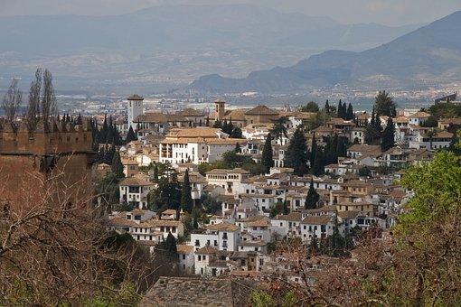 La Alhambra, Granada, Spain, Andalusia, Architecture