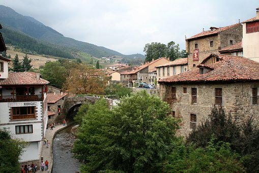 Potes, Cantabria, Spain, Old, Medieval, Architecture