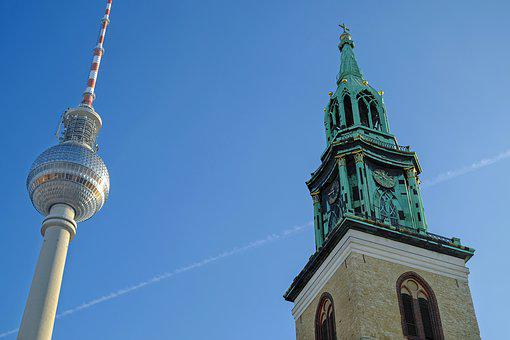 St Mary's Church, Berlin, Building, Architecture