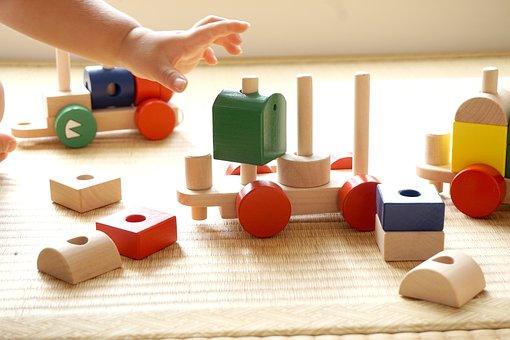 Children, Building Block, Seize, Children Play, Kids