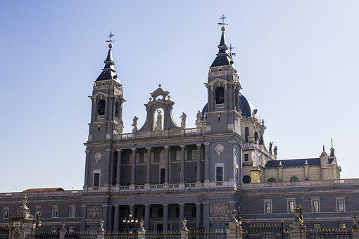 Almudena Cathedral, Royal Palace, Church, Temple