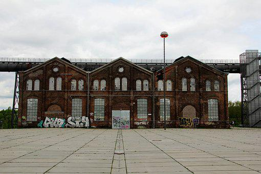 Dortmund, Hörde, Hoesch, Blast Furnace, Event Hall