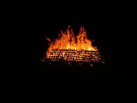 New Year 2017, Fire-walking, Embers, Burn, Healing
