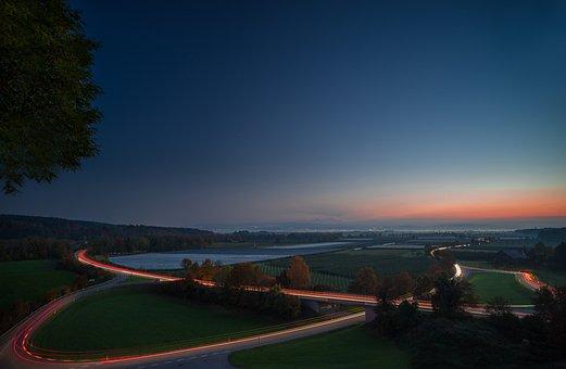 Sunset, Long Exposure, Abendstimmung, Long Shutter