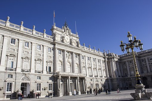 Royal Palace, Madrid, Spain, Parade, Architecture, King