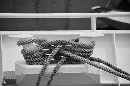 Nodes, Strings, Marine Knots, Ropes, Arimage, Sea, Tie