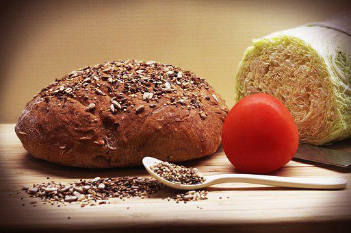 Bread, Home, Seeds, Sunflower, Healthy, Cereals, Meal