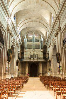 Organs, Church, Music, Instrument, Beaucaire