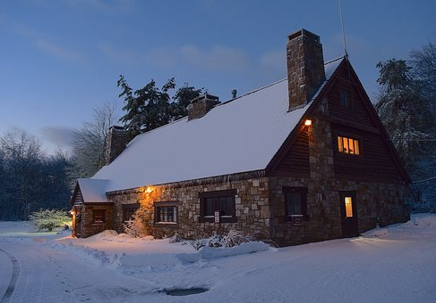 Snow, Sunrise, Tree, Park, Winter, New Jersey, White