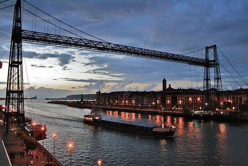 Puente Portugalete, Bilbao, Vizcaya, Spain, Portugalete