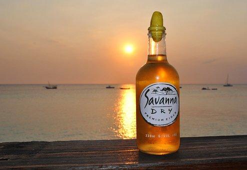 Zanzibar, Africa, Tanzania, Sunset, Drink, Specialty
