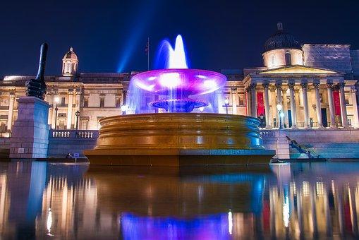 Trafalgar Square, London, England, Great Britain