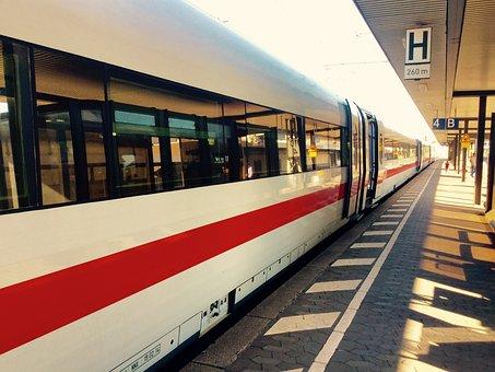 Train, Station, Db Company, Ice 3, Travel