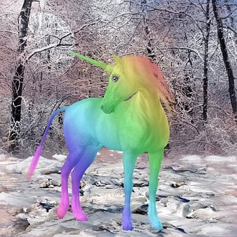 Unicorn, Mythical Creatures, Colorful, Fairy Tales