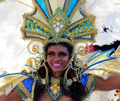 Girl, Young Woman, Carnival, Masquerade, Holiday