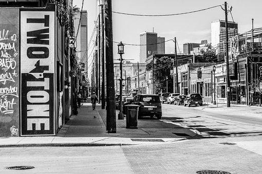 Ghetto, Downtown, Street, Urban, City, Architecture