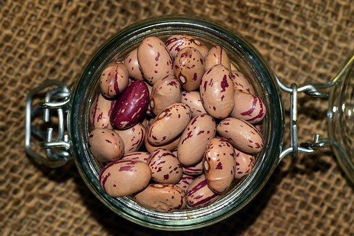 Beans, Quail Beans, Legumes, Healthy, Food, Meatless