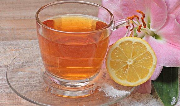 Tee, Lemon, Flower, Blossom, Bloom, Lily, Immune System