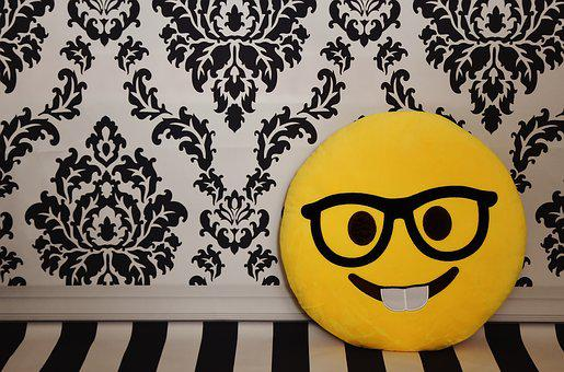 Emoticon, Smiley, Chair, Laugh, Emotions, Modern