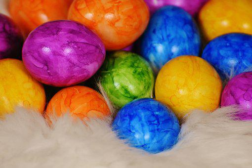 Easter Eggs, Egg, Colored, Colorful, Easter