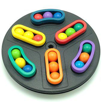 Puzzle, Toy, Marbles, Game, Brain Teaser, Colorful
