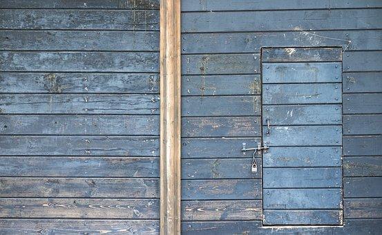 Old Door, Tree, Wooden Background, Wood, Old, Crack