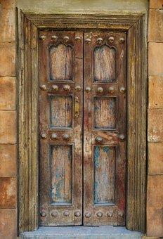 Door, Closed, Entrance, Doorway, Interior, Design