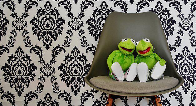 Kermit, For Two, Funny, Fun, Friends, Sit, Rest, Frogs