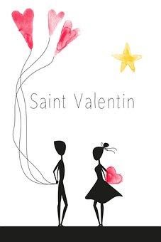 Valentine's Day, Valentine, Love, St Valentin, Heart
