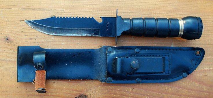 Knife, Jackknife, Large, Pocket Knife, Outdoor Knife