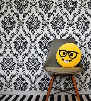 Laugh, Smiley, Funny, Chair, Modern, Background, Joy