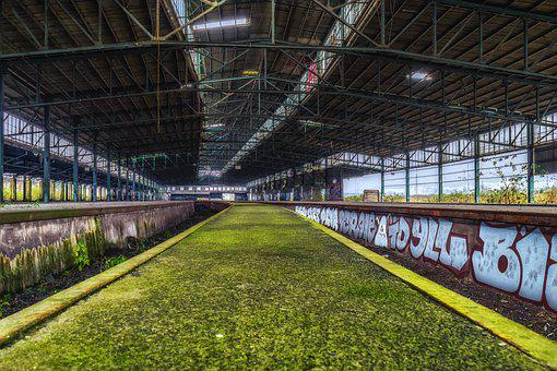 Lost Places, Railway Station, Goods Station, Pforphoto