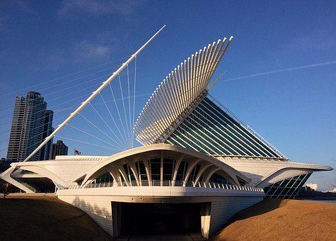 Milwaukee Art Museum, Milwaukee, Museum, Wisconsin