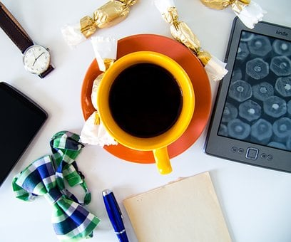 Coffee, Focus, Morning, View From Above, Notes