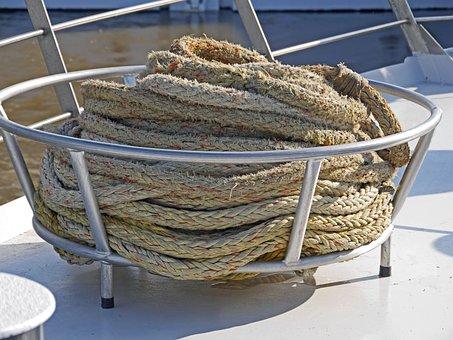 Ship Traffic Jams, Barge, Front Deck, Railing, Basket