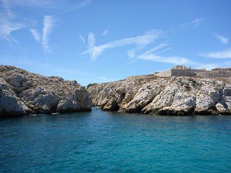 Marseille, Sailboat, Sea, Mediterranean, France