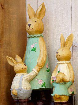 Easter, Easter Bunny, Hare, Spring, Easter Decoration