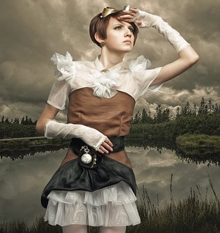 Steampunk, Steampunk Woman, Female, Woman