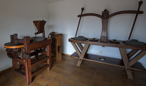 Mill, Flour, Ancient, Bread Making, Traditional, Bakery
