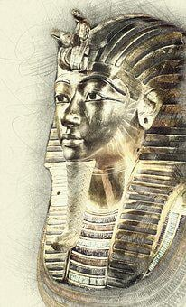 Tutankhamun, Death Mask, Egypt, Statue, Ancient