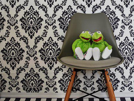 Kermit, For Two, Love, Valentine's Day, Togetherness