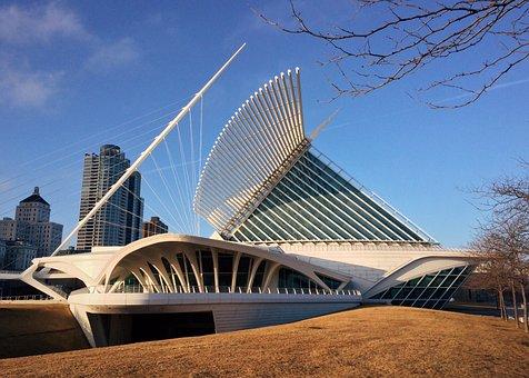 Milwaukee Art Museum, Milwaukee, Museum, Wisconsin