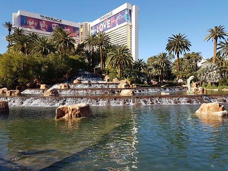 Nevada, Casino, Vegas, Holiday, Boulevard, Fountain