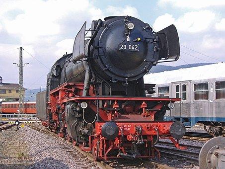 Steam Locomotive, Personenzuglok, Neubaulok, Db, Br23