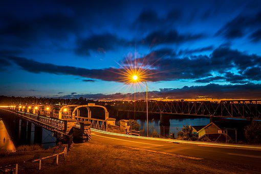 Bridge, Starburst, River