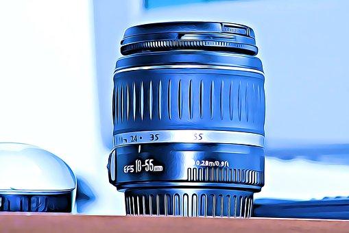 Lens, Photography, Bottlecap, Camera, Cameras, Canon