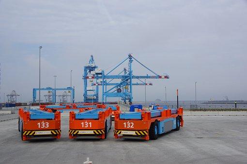 Container, Bearer, Car, Faucet, Port, Transport, Load