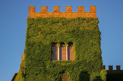 Tuscany, Italy, Castello Di Ginori Querceto, Castello