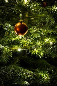 Christmas, Ball, Christmas Ornaments