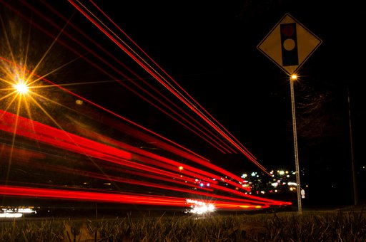 Night, Street, City, Urban, Road, Light, Traffic